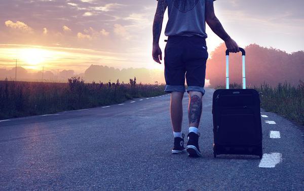 walizki na 4 kółkach